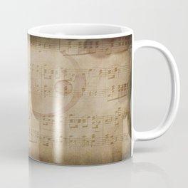 1798 European Ephemera Antique Sheet Music Coffee Mug