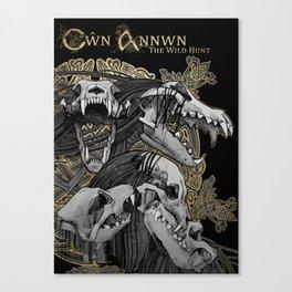 Cwn Annwn Canvas Print