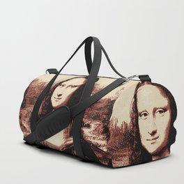 Mona Lisa Vintage Duffle Bag