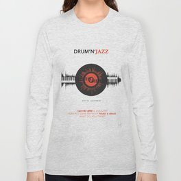 DRUM'N'JAZZ Long Sleeve T-shirt