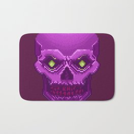 Pxl_Skull Bath Mat