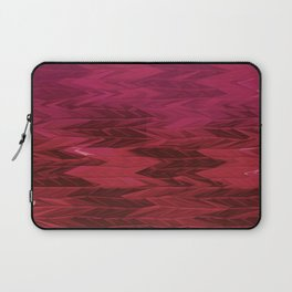 Red Faded Chevron Laptop Sleeve