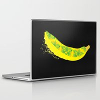 banana Laptop & iPad Skins featuring Banana by SaraWired