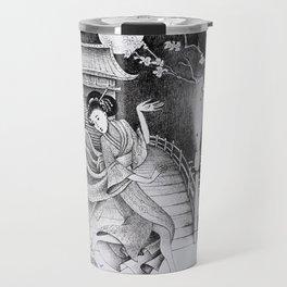 Japanese Cinder-bella Travel Mug