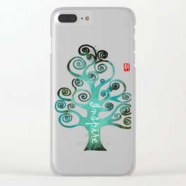 Tree - Inspire Clear iPhone Case