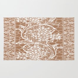 Vintage Lace Taupe Rug