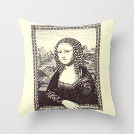 Gioconda Throw Pillow
