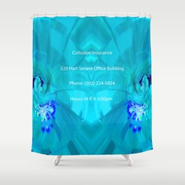 Collusion Insurance Cassidy Shower Curtain