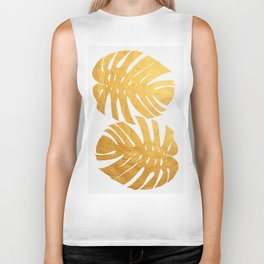 Golden leaf XIII Biker Tank