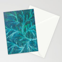 Fractured Fern Stationery Cards