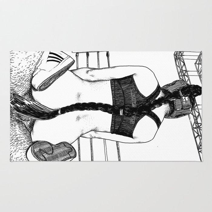 asc 417 - 20131010 La mise hors combat (The knockout) Rug