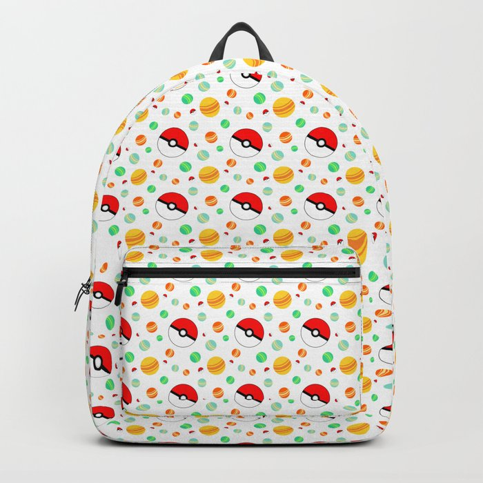 Pokémon candy and pokéballs Backpack