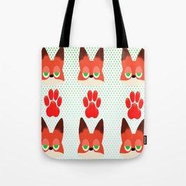 Loyal fox Tote Bag