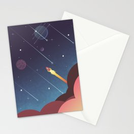 Out there  Stationery Cards