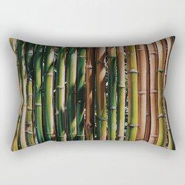 Bamboo Shoots Oriental Pattern Rectangular Pillow