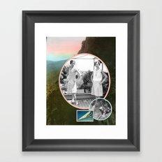 Loups Framed Art Print