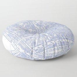 PRINCETON university map NEW JERSEY dorm decor Floor Pillow