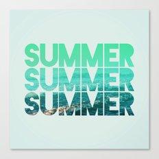 Summer Summer Summer Canvas Print