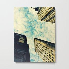 N.Y Metal Print