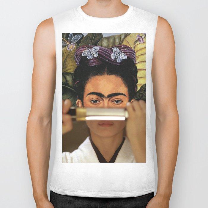 Kill Bill's O-Ren Ishii & Frida Kahlo's Self Portrait Biker Tank