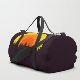 summer mountain Duffle Bag
