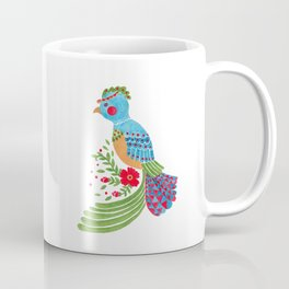 The Blue Quetzal Coffee Mug