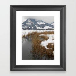 Schwarzsee Framed Art Print