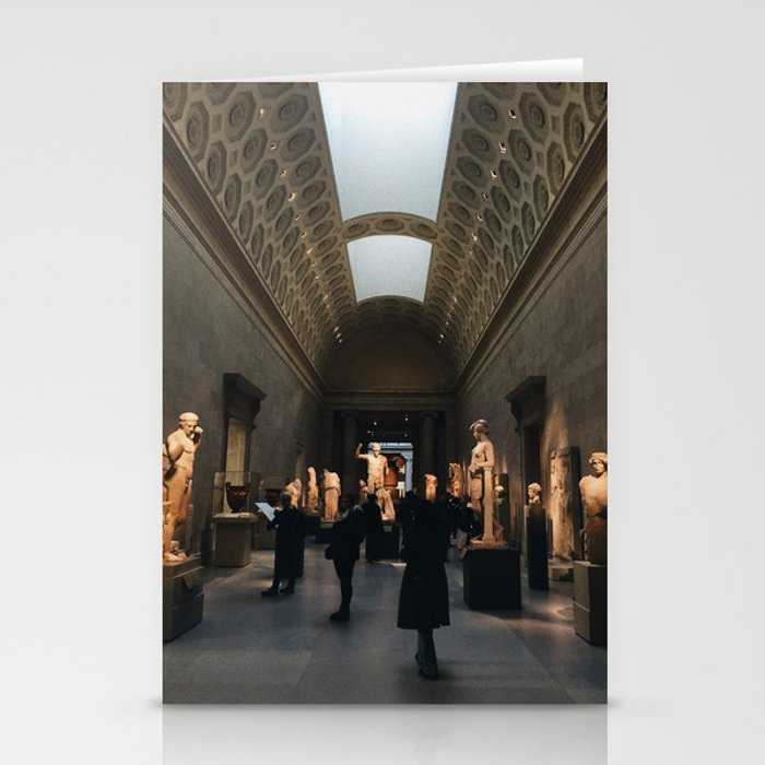 The Met NYC at Golden Hour Stationery Cards