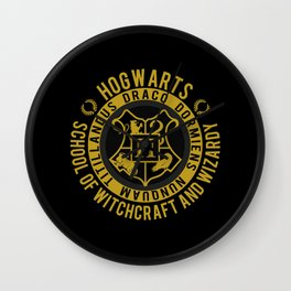 Hogwarts College Wall Clock