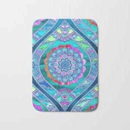 Radiant Boho Color Play Bath Mat