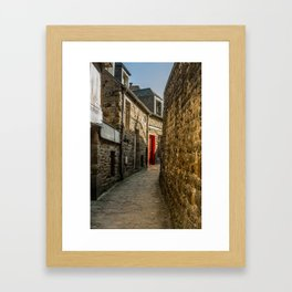 French Alley Framed Art Print
