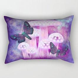 Twilight Moths Rectangular Pillow