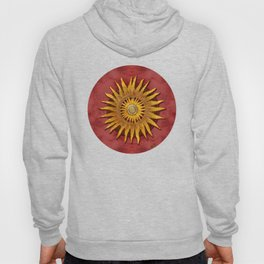 """""""Aztec Sun and pickled coral"""" Hoody"""