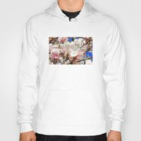 magnolia Hoodies featuring  Magnolia. by Assiyam