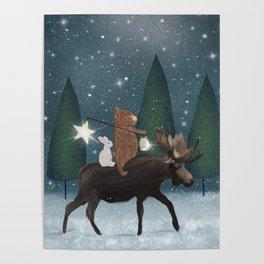 the elder moose Poster