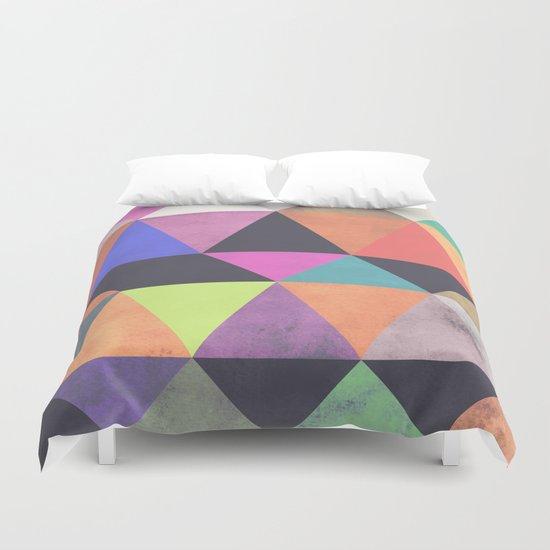 colour + pattern 12 Duvet Cover
