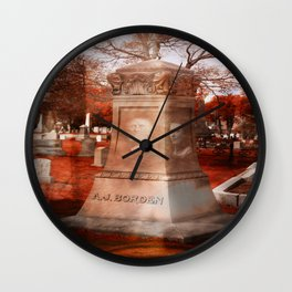 AJ & Lizbeth Reunited Wall Clock