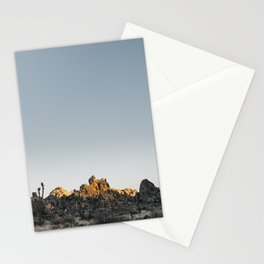 Fading Sun in Joshua Tree Stationery Cards