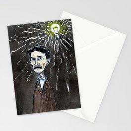 Nikola Tesla's idea Stationery Cards
