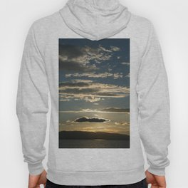 Vermont evening sky over lake champlain II Hoody