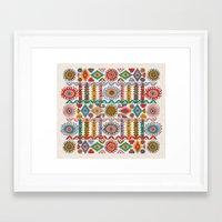 southwest Framed Art Prints featuring Southwest by Helene Michau