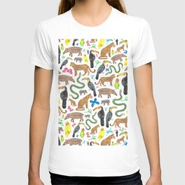 Jungle/Exotic Animals T-shirt