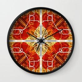Salvation Enlightenment Wall Clock