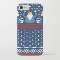 minions iPhone & iPod Cases featuring Ice King and Minions by paperboyjim