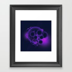 DEEP SPECTRUM (everyday 03.19.17) Framed Art Print