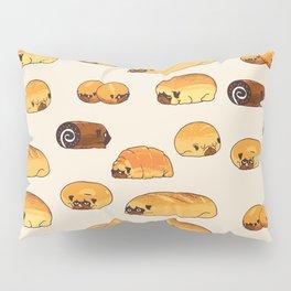Bread Pugs Pillow Sham