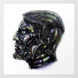 Robot me Art Print