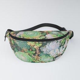 Succulent Garden II Fanny Pack
