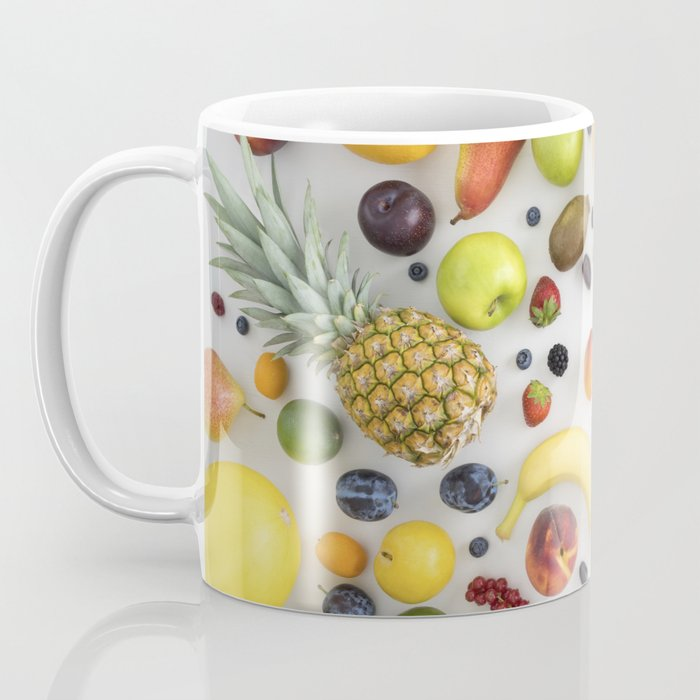 Collection of summer fruits Coffee Mug