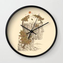A Beautiful Mind Wall Clock